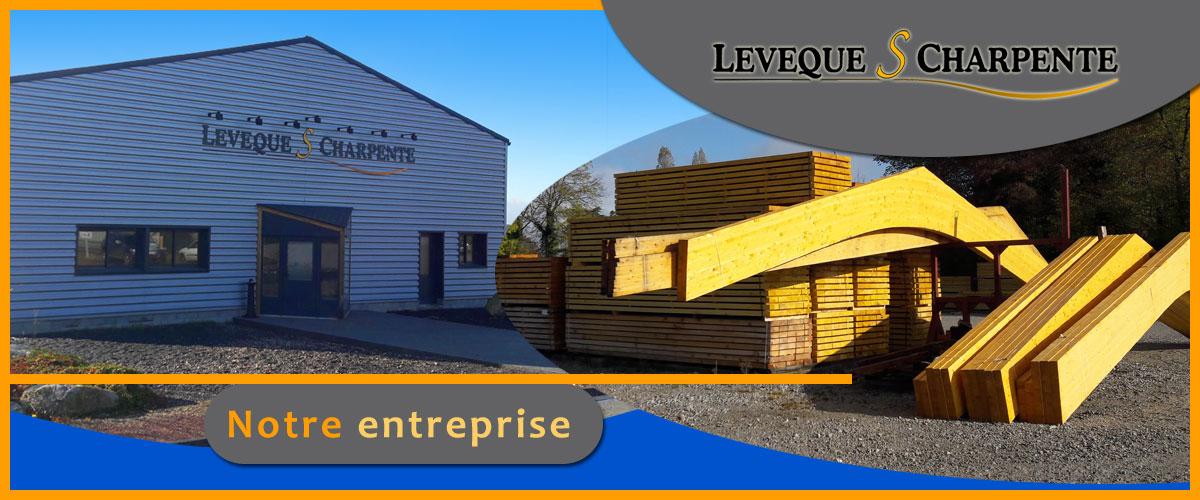 Entreprise familiale située en Normandie (Orne,61) : étude, construction et montage de bâtiments en charpente bois lamellé collé et charpente mixte (bois lamellé collé et métal/béton).