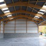 Construction de bâtiments agricoles de stockage, charpente bois, orne (61) Normandie : LEVEQUE S CHARPENTE